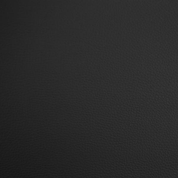 Cabecero tapizado Nils de polipiel negro