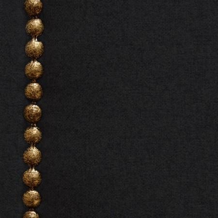 Cabecero tapizado Nils de poliéster negro