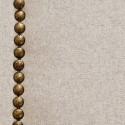Cabecero tapizado Nils de poliéster beige